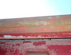 鉄部にサビがある イメージ画像