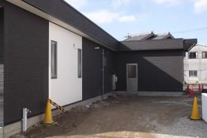 岐阜の㈱南部建装 新社屋、外観の全景です。