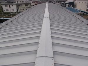 屋根・外壁塗装 岐阜市 ㈱O商店様 完了!!