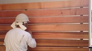 塗装 オスモ 塀 塗装