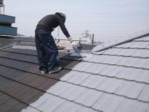 岐阜市 屋根塗り替え