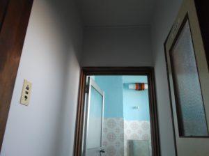 アパ-トの塗替えで、貸していただいたトイレ
