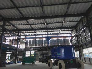 新地区現場  工場