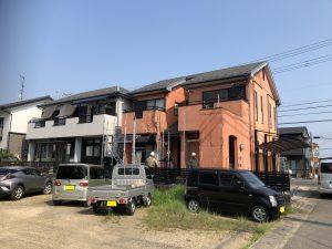 2棟同時施工「屋根カバー・外壁塗装」