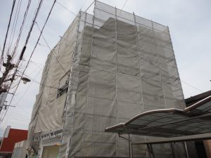 岐阜市での外壁材重張り工事「カバー工法」 ~進捗編~