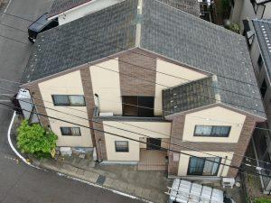 岐阜市 屋根塗装:外壁カバー工法(ガルバニウム鋼板8山重ね張り)