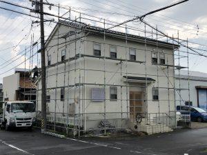 羽島郡岐南町で外壁塗装工事着工です♪